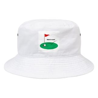 ゴルフ Bucket Hat