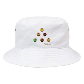 ピラミッドマフィン Bucket Hat