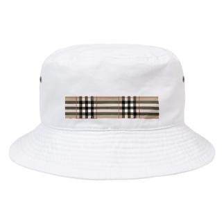タータンチェック Bucket Hat