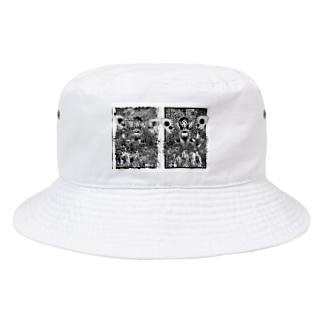 派生霊合星人 Bucket Hat