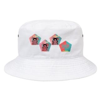 五角(合格)オクトパス(pass)(アラカルト) Bucket Hat