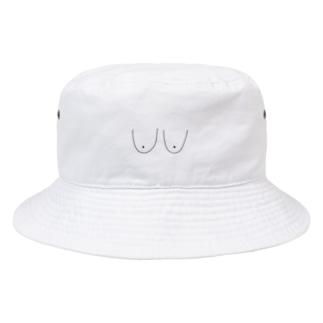 おっぱい Bucket Hat