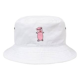 ハダカデバネズミ (デバネーゼ) Bucket Hat