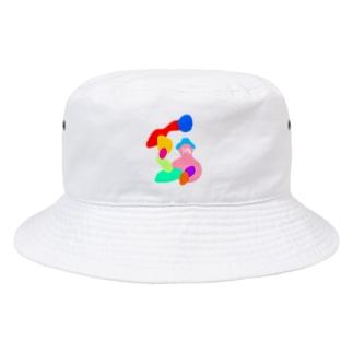 実は力士 Bucket Hat
