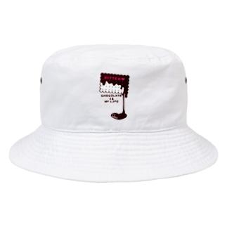 カスタマイズOK >CT99 CHOCOKATE IS MY LIFE*D Bucket Hat