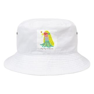 アマビエちゃん Bucket Hat
