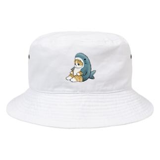 サメにゃん Bucket Hat