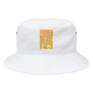 はなうさ たくさんいる Bucket Hat
