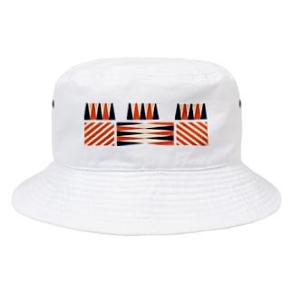 アヴァンなシマシマ Bucket Hat