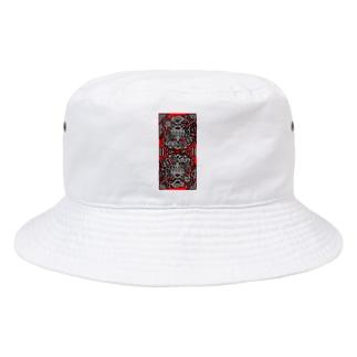 衝動的な空虚断面図 Bucket Hat