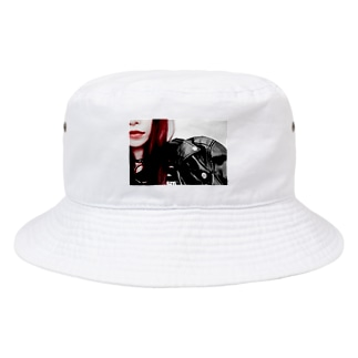 Red 1 Bucket Hat