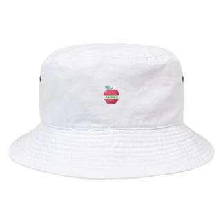 リンゴ(背景なし) Bucket Hat