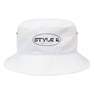 STYLE R&Nao oval-logo 🎱 Bucket Hat