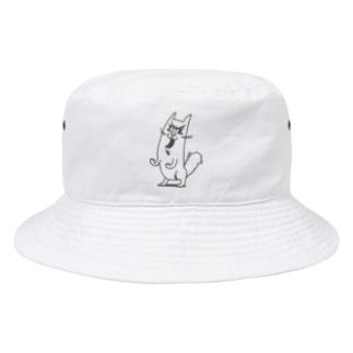 ニャン相が変わるほどの荒ぶり Bucket Hat