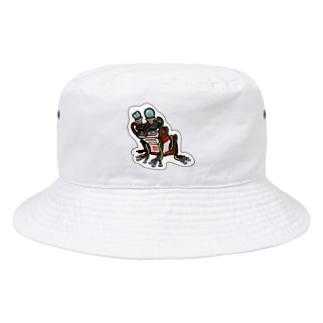 9vフロッグ Bucket Hat