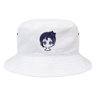 クロネコアタマ Bucket Hat
