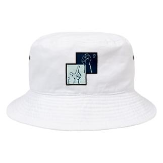 グーチョキハット Bucket Hat