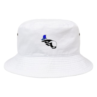 shirokuro鳥 Bucket Hat