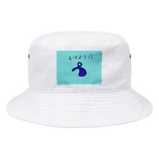 JUSEN SETA 【瀬田純仙】COOL JAPAN おはようキャラ Bucket Hat