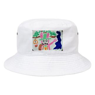 ウサの冒険ハット Bucket Hat