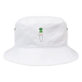 人参三 Bucket Hat