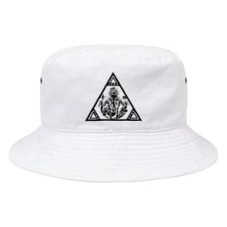 アジアンオールドバザール伊豆のサンカクガネ様 Bucket Hat