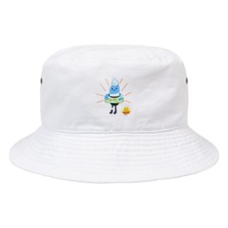 薬くん、泳ぐぞ! Bucket Hat