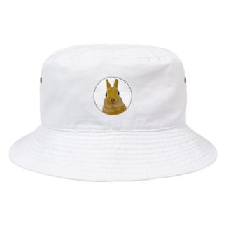 【うさぎのふゆちゃん】は頭の上にいてます Bucket Hat