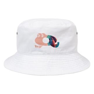 キューくんVaporwave  Bucket Hat
