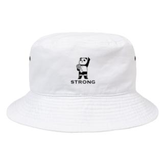 パンダプロレス チャンピオン Bucket Hat