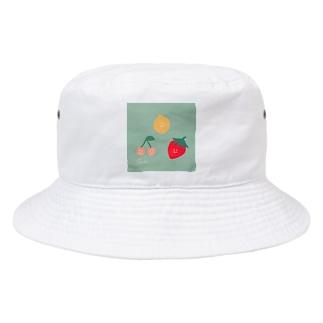 フルーツもりもり Bucket Hat