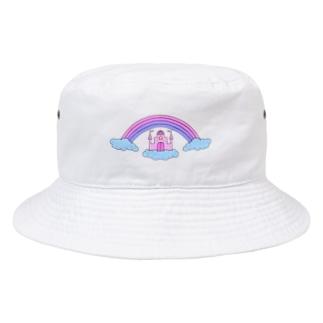 a secret castle Bucket Hat