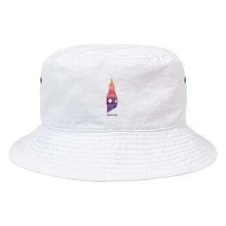 茶木谷なっとの時計台 Bucket Hat