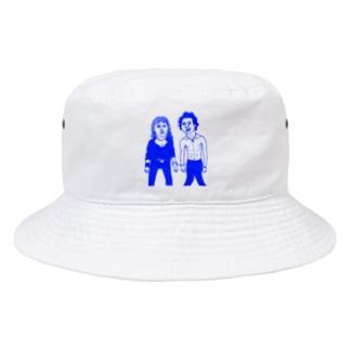 サチエとケンちゃん(青色) Bucket Hat