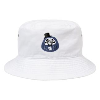 ジェントルだるま Bucket Hat