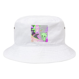 What is cute? メロンクリーム猫さん Bucket Hat