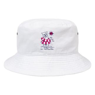 CT67あるぱかイズムのsun sun sun Bucket Hat