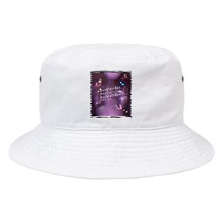 激盛れ脊髄❤️シカク Bucket Hat