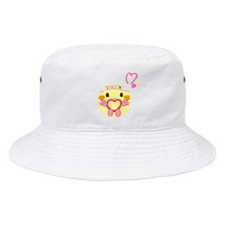 おうえん(ハート) Bucket Hat