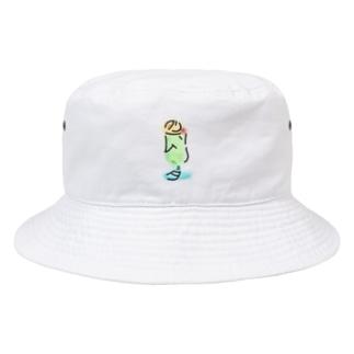 はじける世界 Bucket Hat