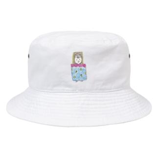 ホッとひと息充電日和_星名ラテ Bucket Hat