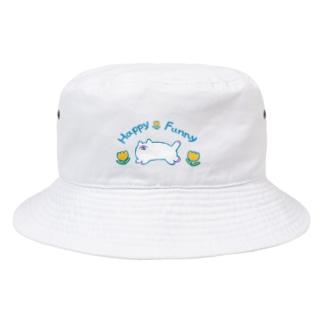HappyFunnyねこちゃん Bucket Hat