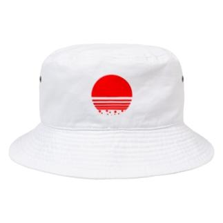 赤丸しゅわわ君 Bucket Hat