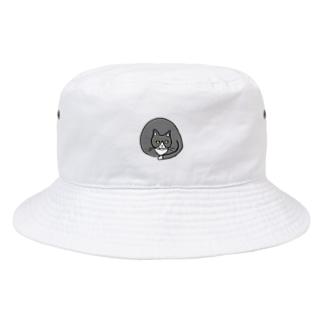 どっしり猫 Bucket Hat