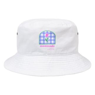 tulip×check Bucket Hat