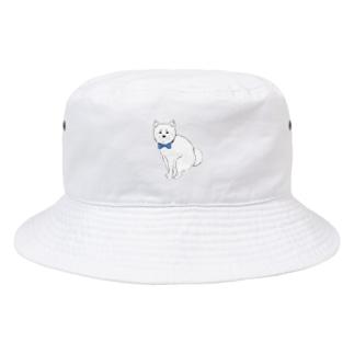 ずんだSUZURI店の柴犬おじさん Bucket Hat