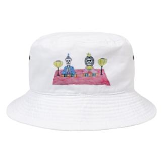 ひなロック Bucket Hat