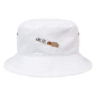渋滞モルモット Bucket Hat