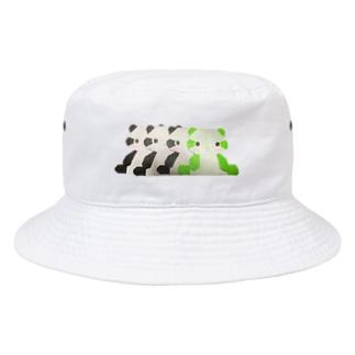 パンダの残像 Bucket Hat
