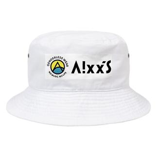 Aixx'sオリジナルロゴアイテム Bucket Hat